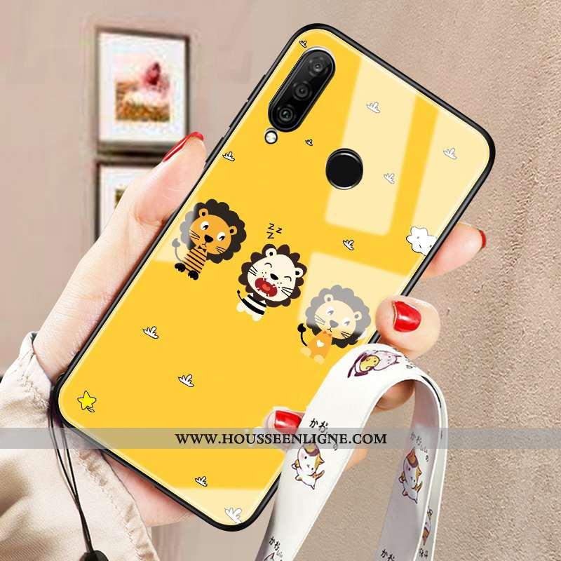 Housse Huawei P30 Lite Xl Tendance Protection Tout Compris Ornements Suspendus Coque Difficile Télép
