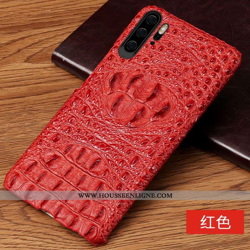 Housse Huawei P30 Pro Luxe Personnalité Rouge Qualité Incassable Étui Luxe