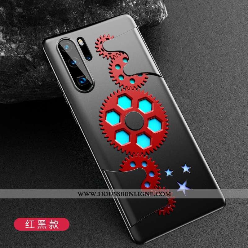 Housse Huawei P30 Pro Protection Délavé En Daim Créatif Personnalité Tendance Rouge Téléphone Portab