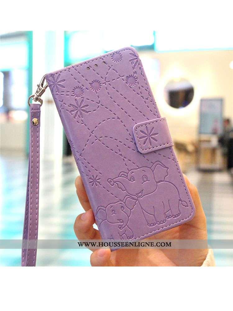 Housse Huawei P30 Pro Silicone Protection Violet Étui Incassable Téléphone Portable