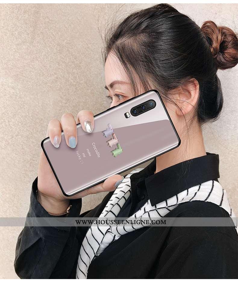 Housse Huawei P30 Tendance Légère Étui Incassable Verre Petit Ultra Violet