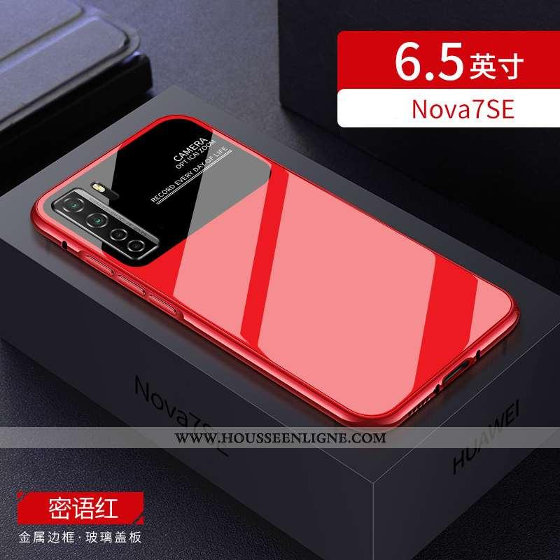 Housse Huawei P40 Lite 5g Tendance Légère Étui Rouge Incassable Border Personnalité