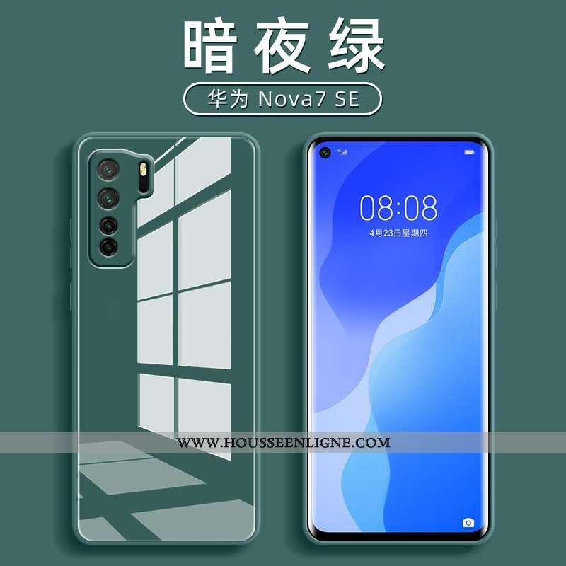 Housse Huawei P40 Lite 5g Ultra Tendance Verre Tout Compris Net Rouge Téléphone Portable Protection