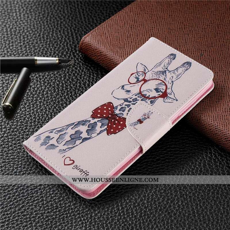 Housse Huawei P40 Lite Cuir Protection Téléphone Portable Coque Étui Rose