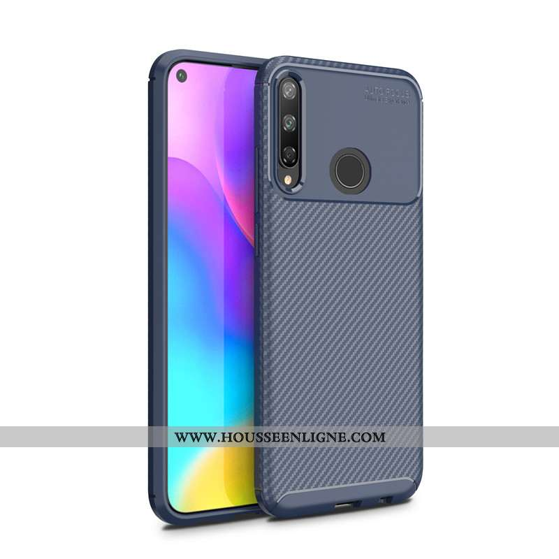 Housse Huawei P40 Lite E Protection Délavé En Daim Fluide Doux Téléphone Portable Antidérapant Étui