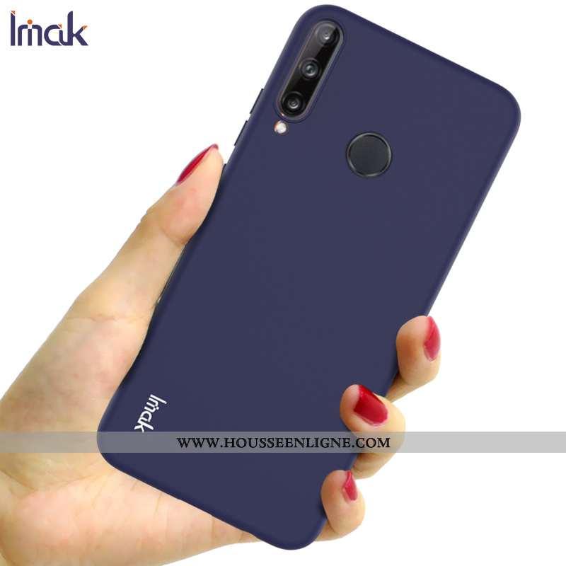 Housse Huawei P40 Lite E Protection Délavé En Daim Incassable Silicone Étui Téléphone Portable Coque