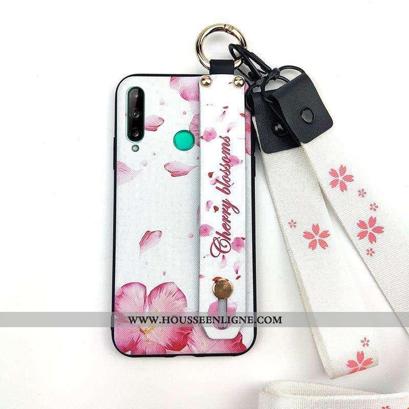 Housse Huawei P40 Lite E Protection Ornements Suspendus Étui Téléphone Portable Coque Fleur Créatif