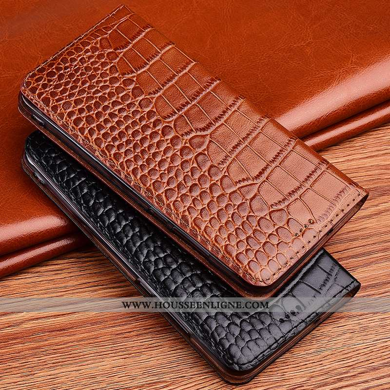 Housse Huawei P40 Lite Silicone Protection Modèle Fleurie Clamshell Nouveau Téléphone Portable Croco