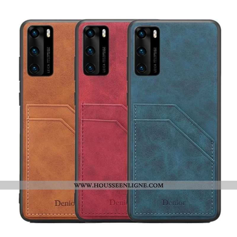 Housse Huawei P40 Tendance Légère Téléphone Portable Incassable Légères Tout Compris Bleu