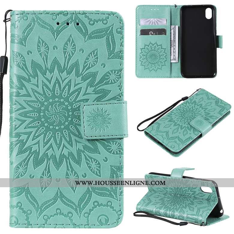 Housse Huawei Y5 2020 Fluide Doux Silicone 2020 Tout Compris Téléphone Portable Étui Vert Verte