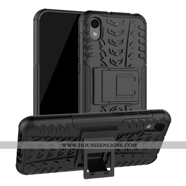 Housse Huawei Y5 2020 Protection Tout Compris 2020 Coque Téléphone Portable Incassable Étui Noir