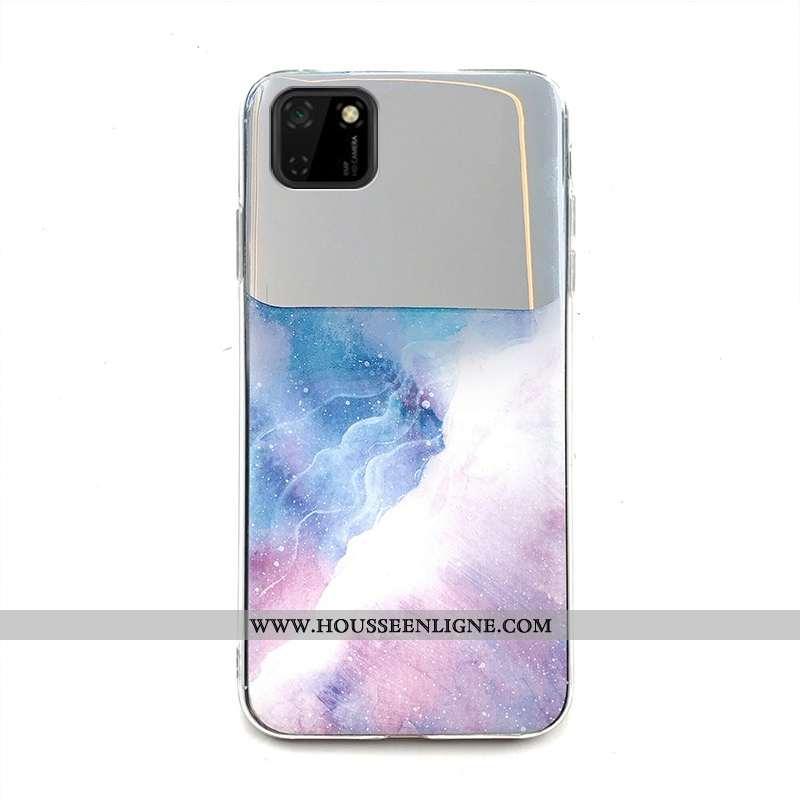 Housse Huawei Y5p Protection Créatif Coque Téléphone Portable Fluide Doux Grand 2020 Coloré