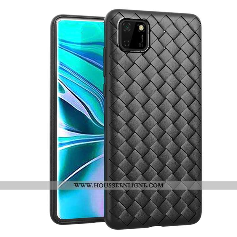 Housse Huawei Y5p Protection Modèle Fleurie Incassable Mode Tissage Tout Compris Noir