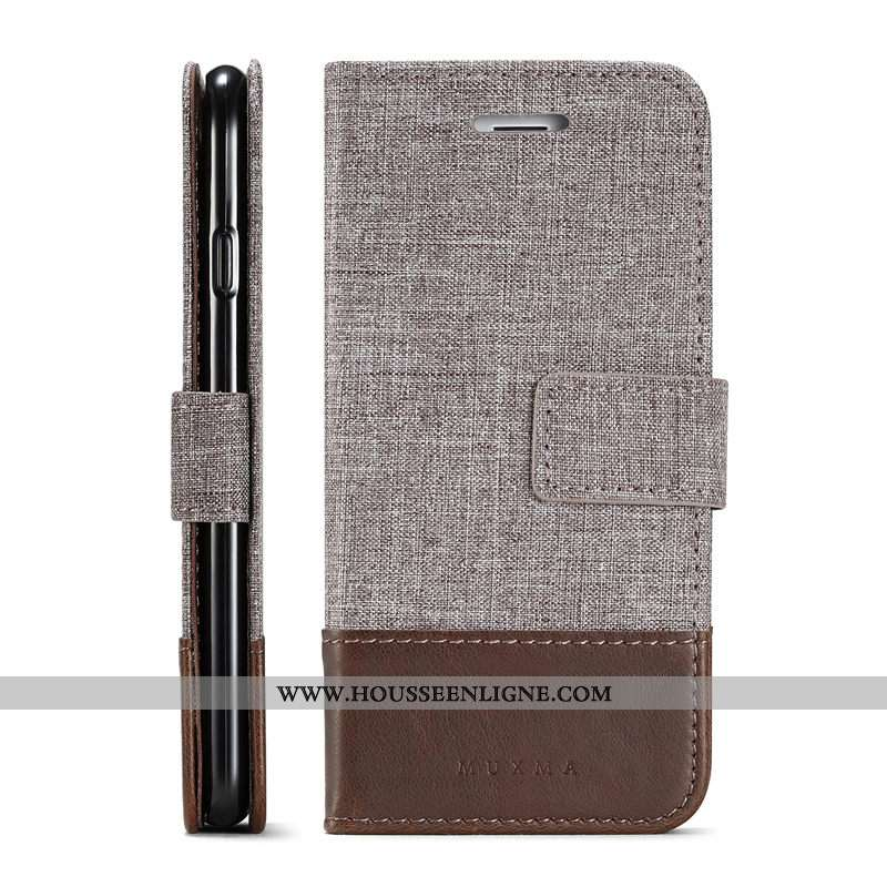 Housse Huawei Y6 2020 Cuir Business Simple 2020 Téléphone Portable Coque Marron