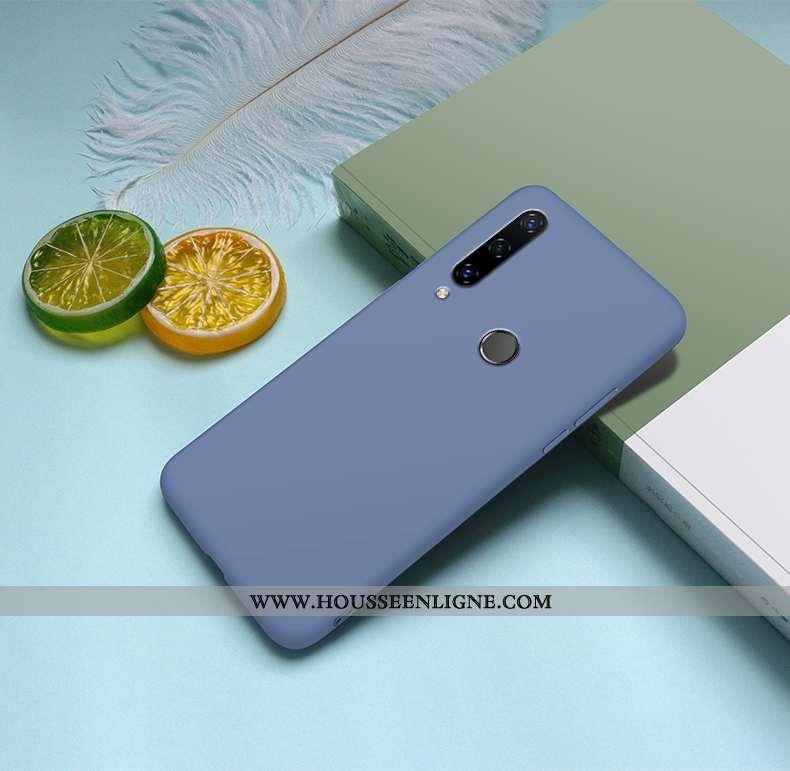 Housse Huawei Y6p Mode Protection Ultra Amoureux Légère Tout Compris Personnalité Bleu