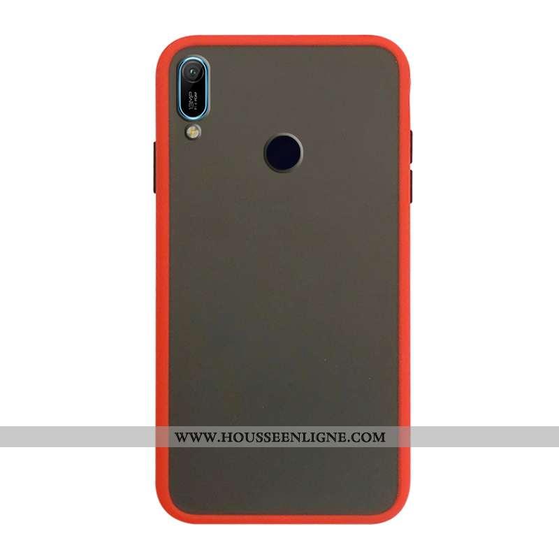 Housse Huawei Y6s Protection Coque En Silicone Incassable Téléphone Portable 2020 Rouge Étui