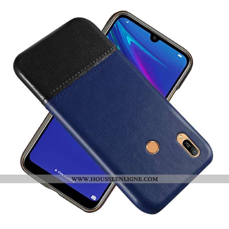 Housse Huawei Y6s Protection Mode Étui Téléphone Portable Vert Couture Couleurs Business Armée Verte