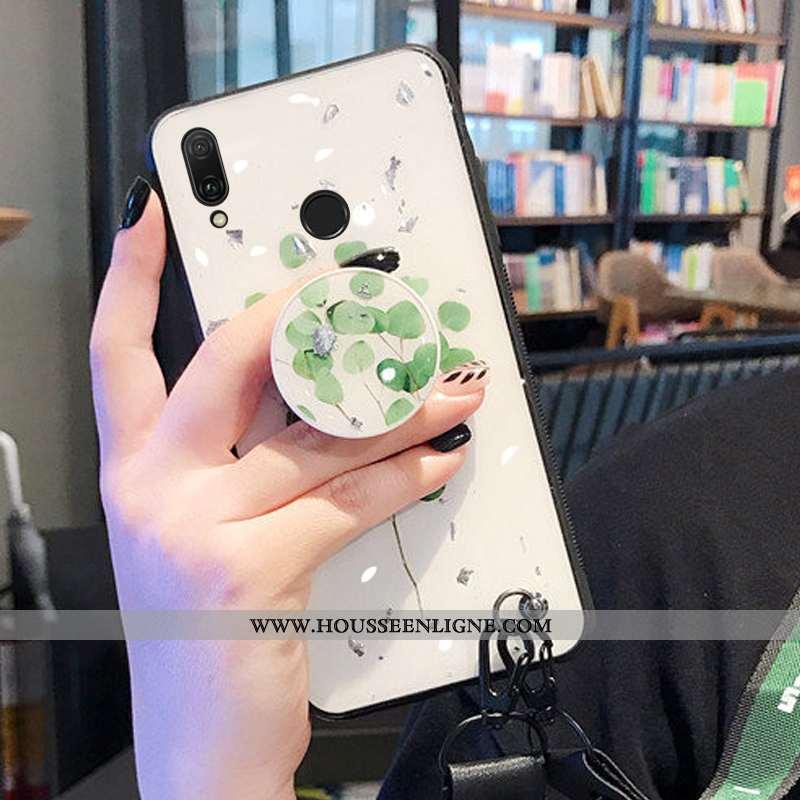 Housse Huawei Y7 2020 Protection Ornements Suspendus Coque Vert 2020 Téléphone Portable Support Vert