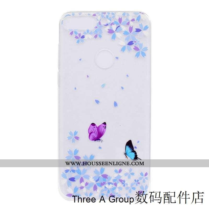 Housse Huawei Y7 2020 Protection Tendance Tout Compris 2020 Fluide Doux Coque Silicone Violet