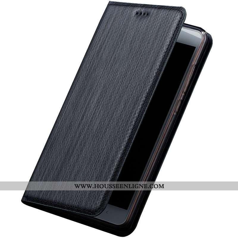 Housse Moto G7 Play Protection Cuir Modèle Fleurie Téléphone Portable Coque Tout Compris Noir