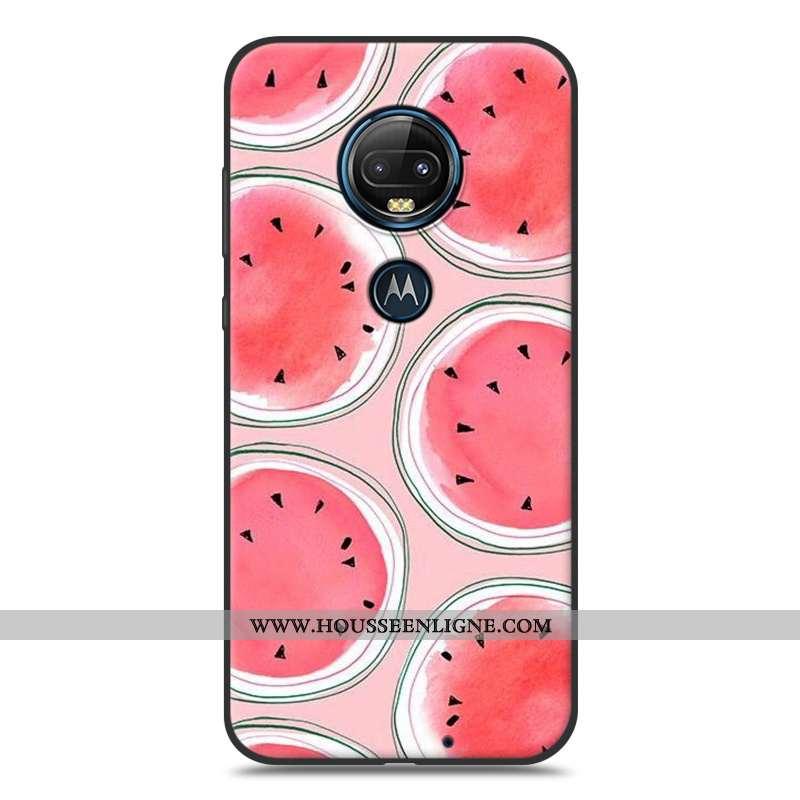 Housse Moto G7 Plus Personnalité Créatif Silicone Fluide Doux Téléphone Portable Charmant Tendance R