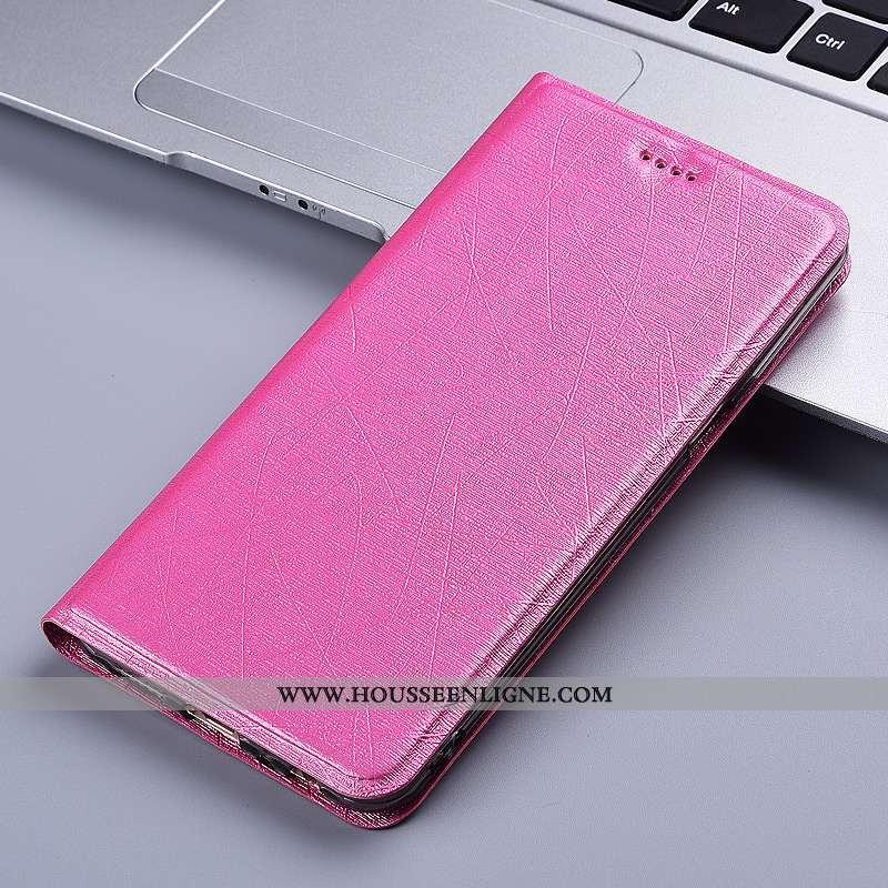 Housse Moto G8 Power Cuir Protection Rouge Tout Compris Étui Téléphone Portable Coque Rose