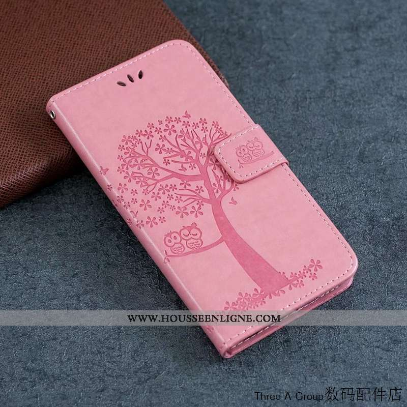 Housse Nokia 1.3 Cuir Silicone Charmant Chat Carte Coque Rose