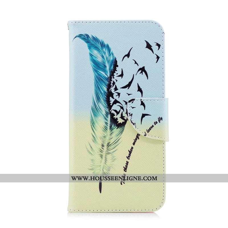 Housse Nokia 2.1 Fluide Doux Silicone Bleu Téléphone Portable Cuir Coque Tout Compris