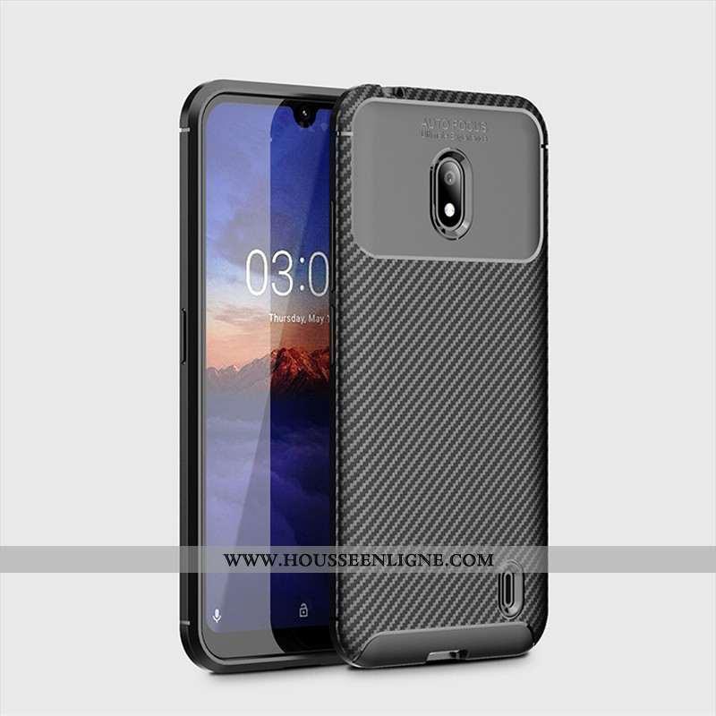 Housse Nokia 2.2 Fluide Doux Protection Délavé En Daim Modèle Fleurie Étui Coque Téléphone Portable
