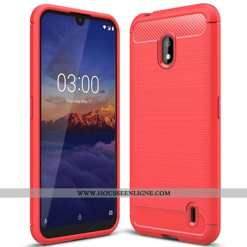 Housse Nokia 2.2 Tendance Fluide Doux Rouge Protection Nouveau Téléphone Portable Simple