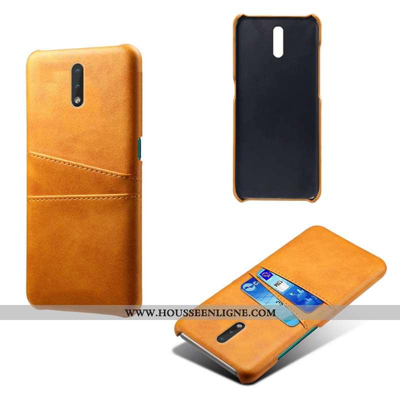 Housse Nokia 2.3 Cuir Protection Étui Légères Difficile Légère Jaune