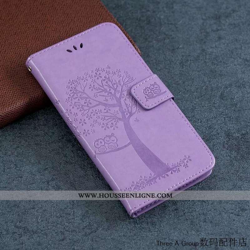 Housse Nokia 2.3 Silicone Protection Chat Téléphone Portable Tout Compris Étui Violet
