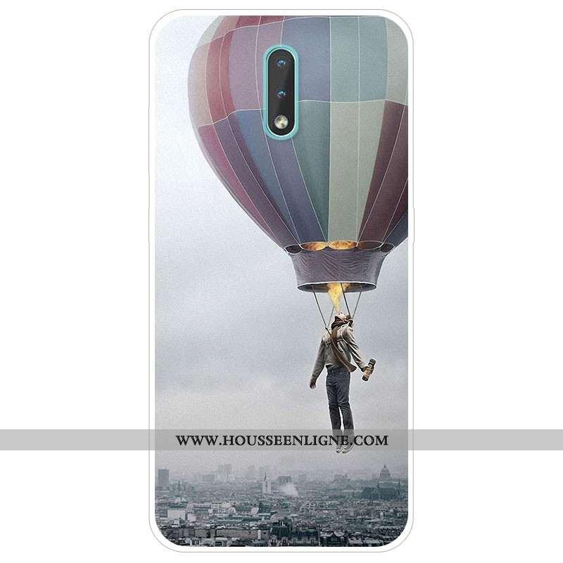 Housse Nokia 2.3 Silicone Protection Téléphone Portable Tendance Étui Gris Coque