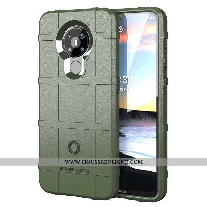 Housse Nokia 5.3 Téléphone Portable Vert Coque Verte