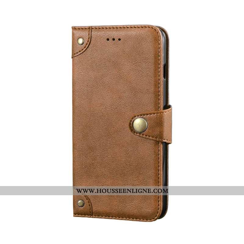 Housse Nokia 6.1 Protection Portefeuille Téléphone Portable Cuir Kaki Coque 2020 Khaki