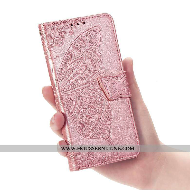 Housse Nokia 6.2 Fluide Doux Protection Étui Rose Incassable Cuir