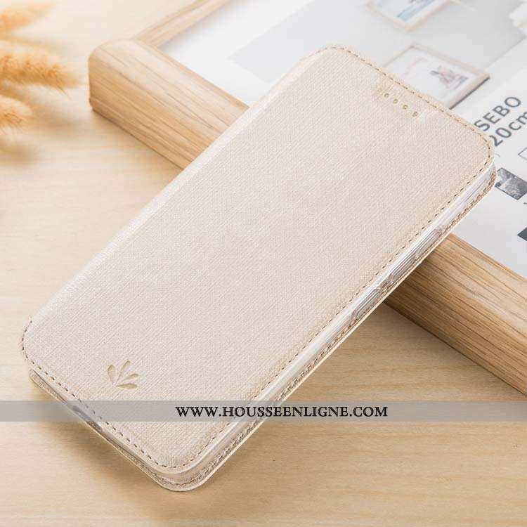 Housse Nokia 9 Pureview Cuir Modèle Fleurie Coque Étui Tissu Téléphone Portable Beige
