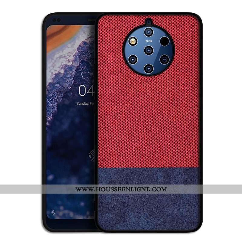 Housse Nokia 9 Pureview Silicone Protection Tendance Tout Compris Coque Personnalité Étui Rouge