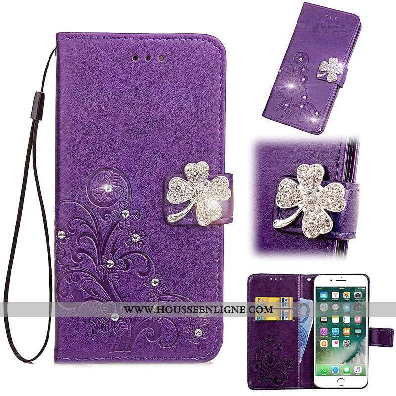 Housse Oneplus 5 Fluide Doux Protection Coque Incassable Étui Violet Téléphone Portable