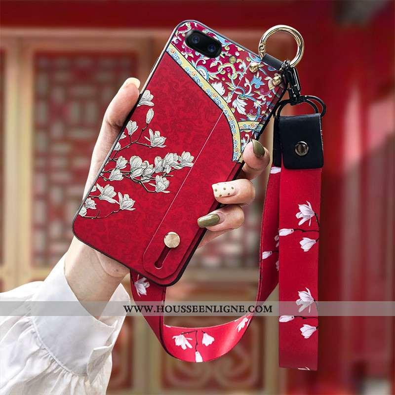 Housse Oneplus 5 Fluide Doux Silicone Téléphone Portable Tendance Coque Gaufrage Ornements Suspendus