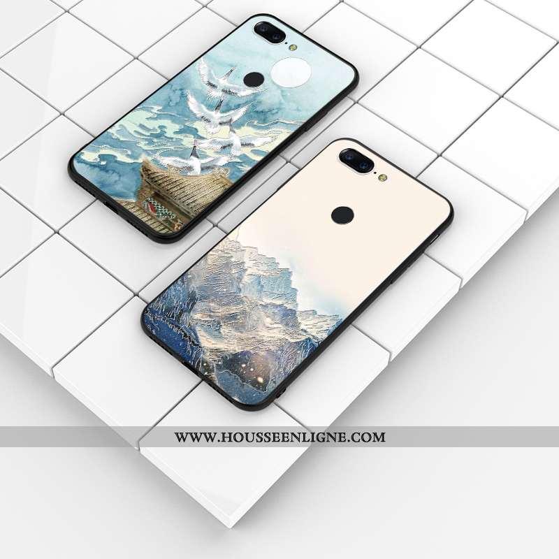 Housse Oneplus 5t Protection Délavé En Daim Téléphone Portable Gaufrage Tout Compris Personnalisé Co