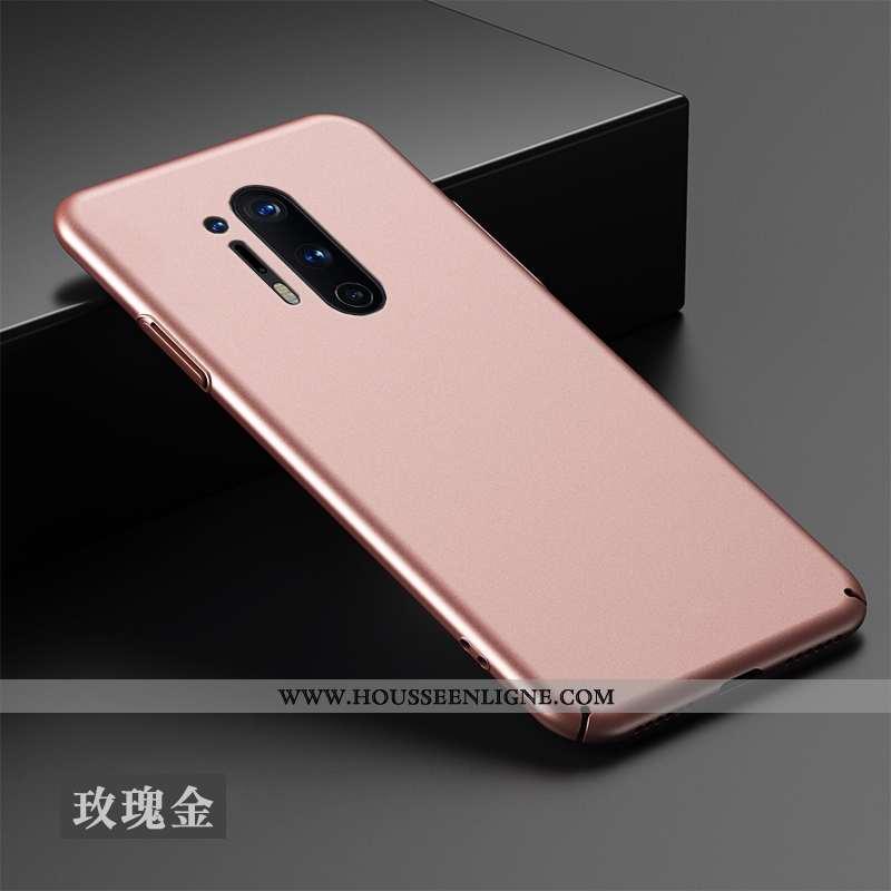 Housse Oneplus 8 Pro Silicone Protection Téléphone Portable Étui Tout Compris Créatif Net Rouge Rose