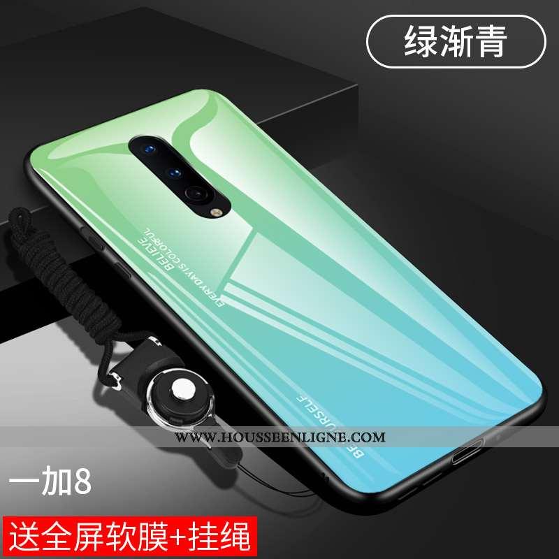 Housse Oneplus 8 Protection Verre Incassable Silicone Ultra Coque Tout Compris Verte