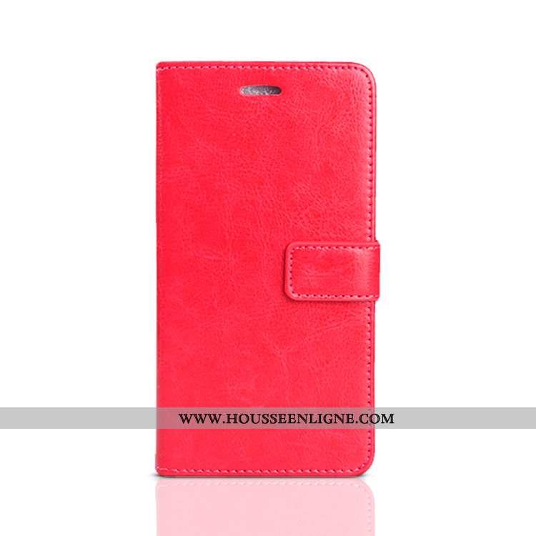Housse Oppo A3 Cuir Fluide Doux Coque Incassable Tout Compris Étui Téléphone Portable Rouge