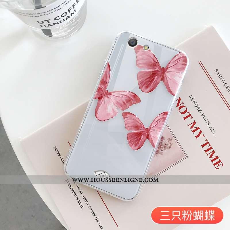 Housse Oppo A31 Personnalité Créatif Téléphone Portable Fluide Doux Rouge Coque Silicone