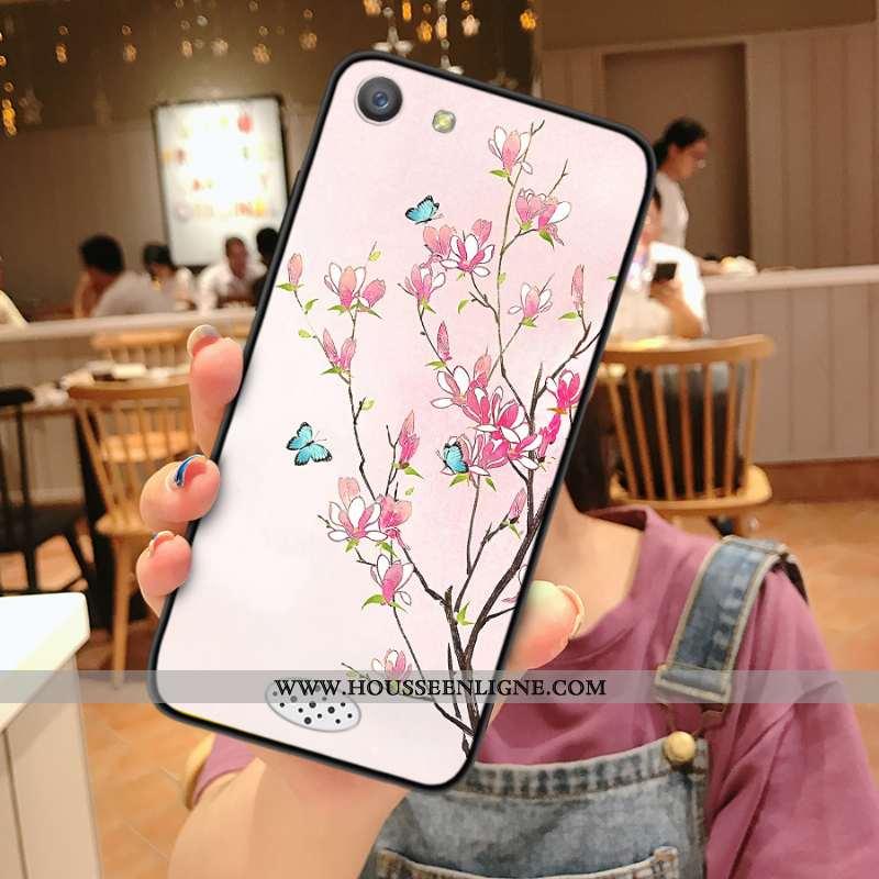Housse Oppo A31 Silicone Protection Tendance Incassable Rose Téléphone Portable Coque