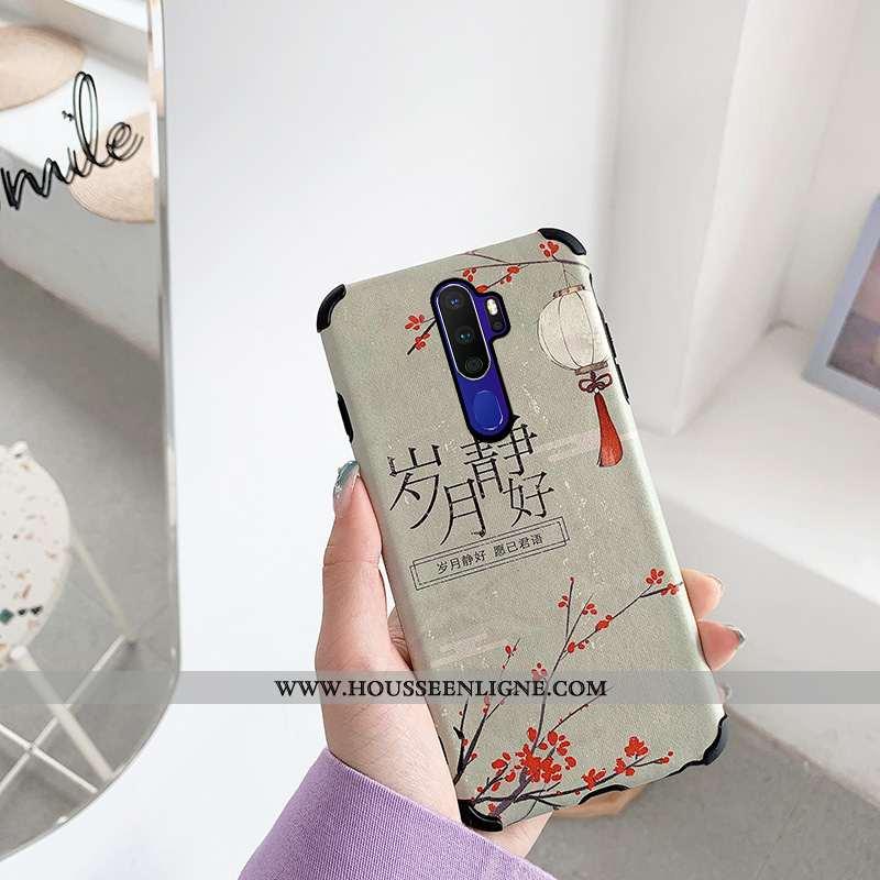 Housse Oppo A9 2020 Protection Personnalité Incassable Dessin Animé Art Téléphone Portable Coque Bei