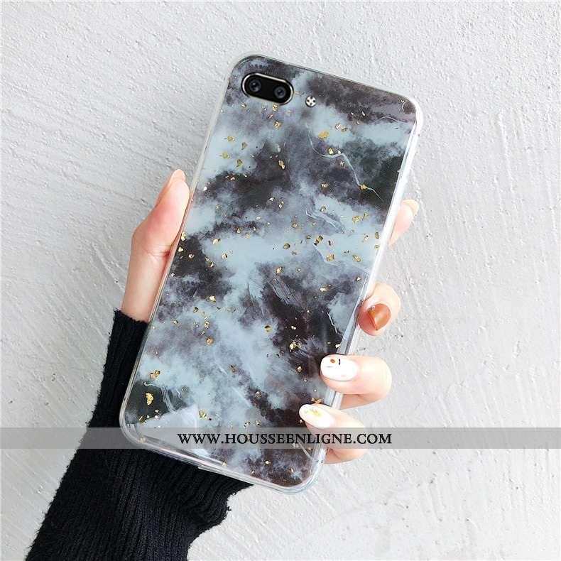 Housse Oppo Ax5 Mode Protection Étui Fluide Doux Incassable Téléphone Portable Coque Gris