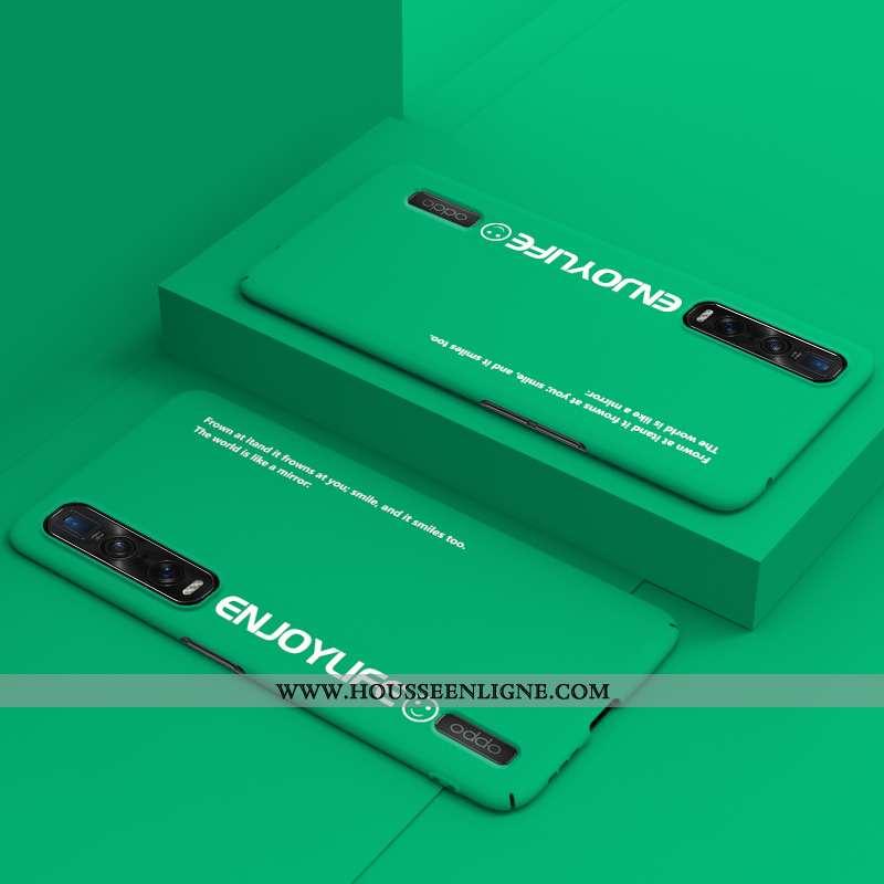 Housse Oppo Find X2 Pro Légère Protection Délavé En Daim Étui Vert Incassable Difficile Verte