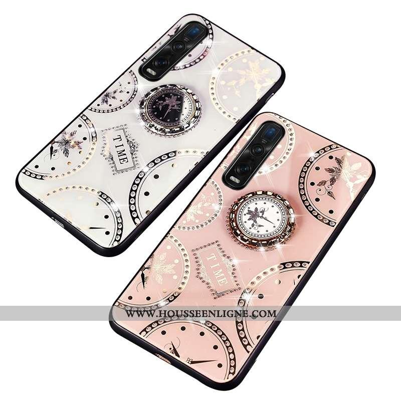 Housse Oppo Find X2 Pro Silicone Protection Blanc Téléphone Portable Difficile Coque Étui Blanche